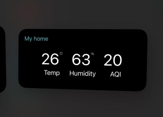 Xiaomi Home App bekommt Widgets für iOS