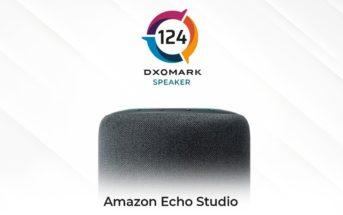 Amazon Echo Studio DXOMARK Speaker