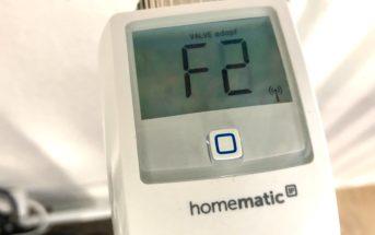 Homematic IP Fehler F2