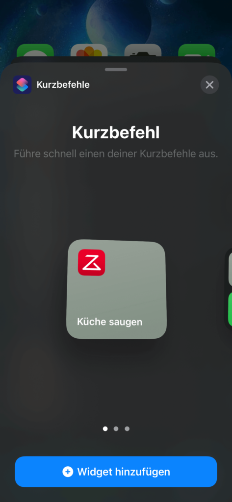 Roborock Siri Kurzbefehle