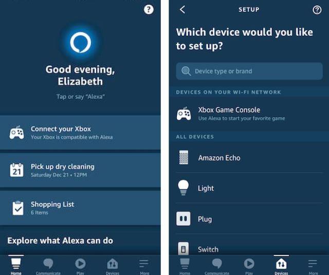 Alexa Device Discovery