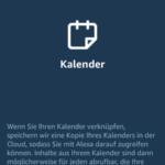 Alexa Apple Kalender Schritt 1