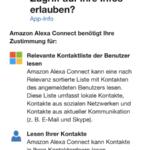 Alexa Microsoft Kalender Schritt 2