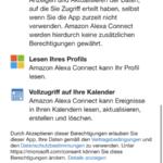 Alexa Microsoft Kalender Schritt 2 Berechtigungen