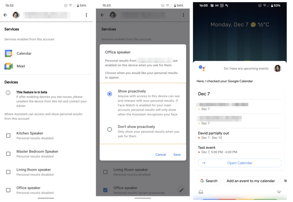 Google Assistant Multi Account Nutzung_2