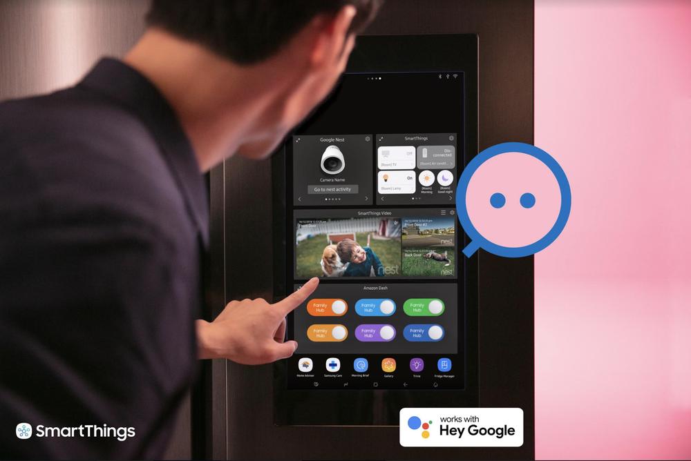 Google und Samsung vernetzen ihre Smart Home Systeme