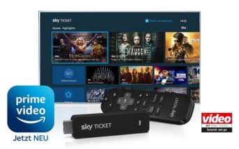 Prime Video auf dem Sky Ticket TV Stick
