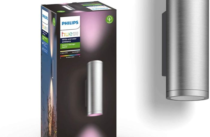 Philips Hue Appear Edelstahl