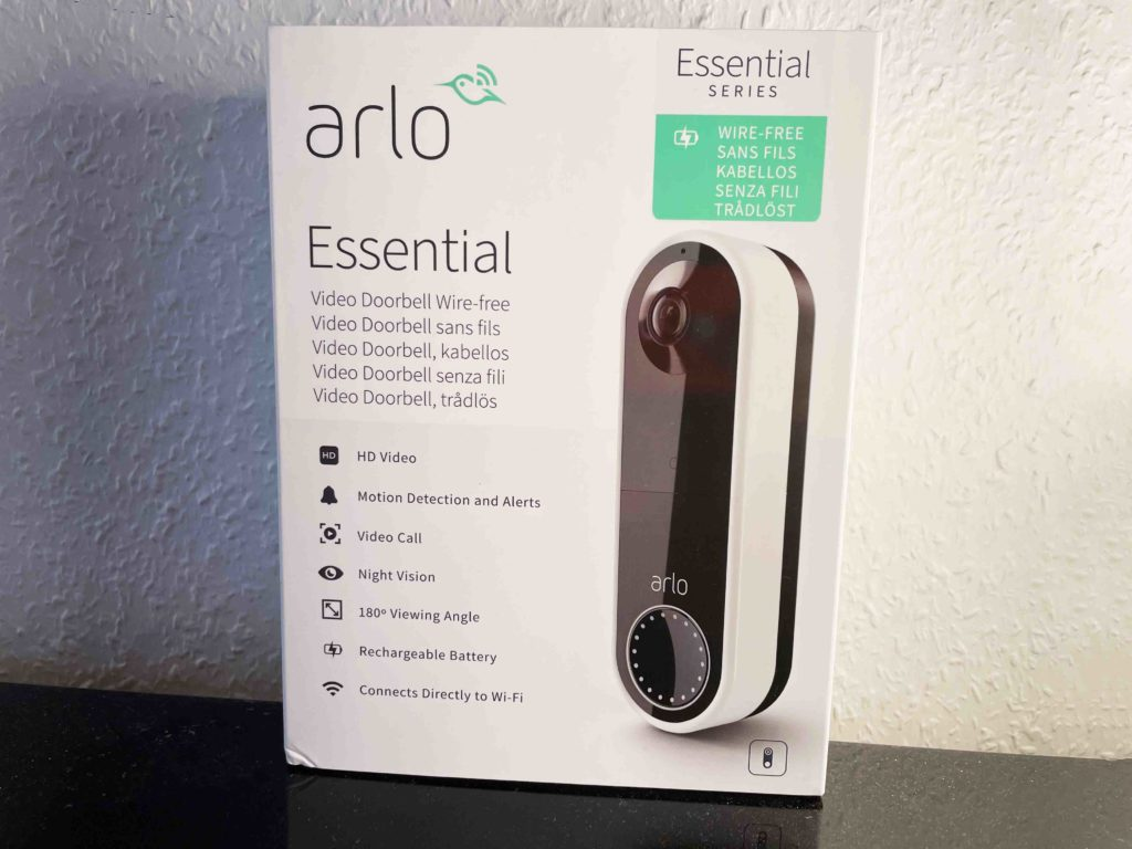 Arlo Video Doorbell Wire-free