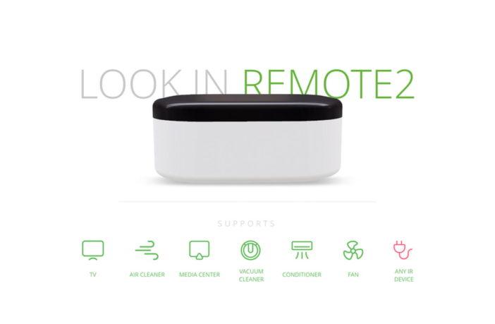 LOOK.in Remote2 Universalfernbedienung
