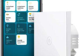 Meross HomeKit Touch Lichtschalter jetzt bei Amazon verfügbar