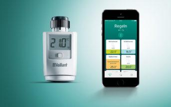 Heizkörper Thermostat von Vaillant
