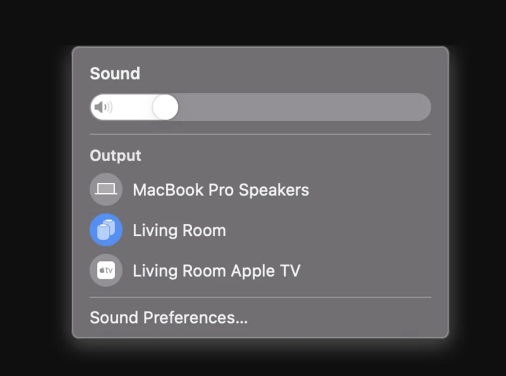 macOS 11.3 HomePod Stereo-Paar