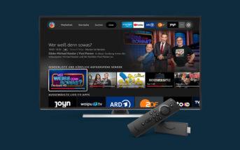 Fire TV Live Tab