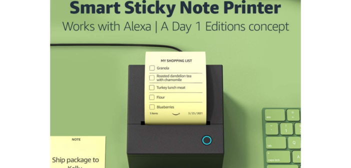 Haftnotizdrucker Zubehör für Amazon Alexa