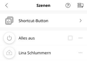 IKEA Shortcut Button