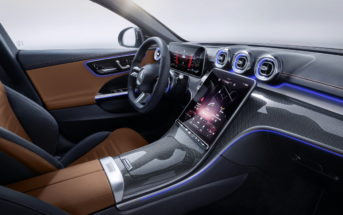 Mercedes Benz C-Klasse MBUX 2 Smart Home Steuerung