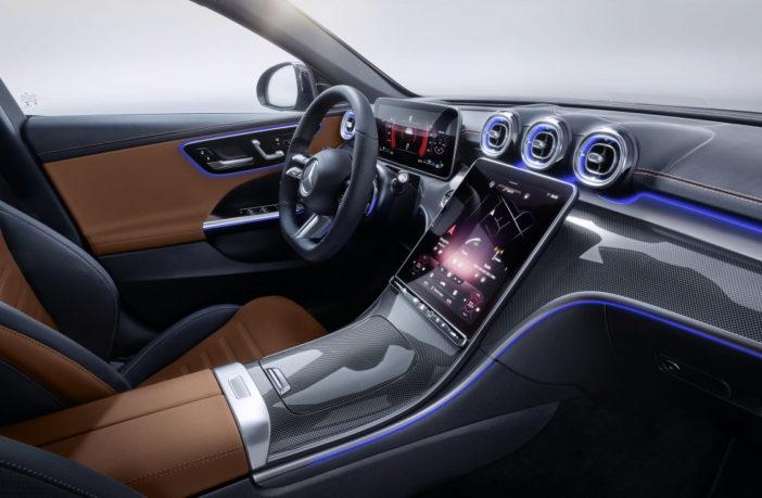Mercedes Benz C-Klasse MBUX 2 Smart Home Steuerung