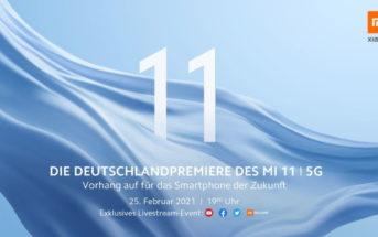 Mi11 Deutschlandpremiere