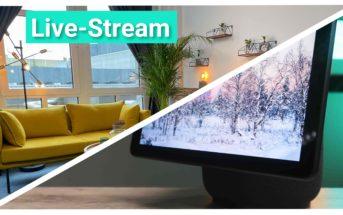 Livestream Echo Show 10