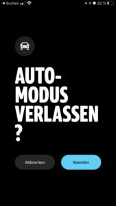 Amazon Music Auto-Modus Beenden