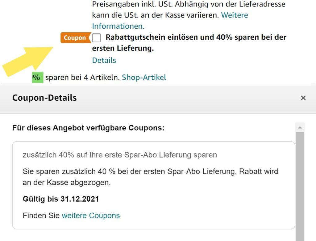 Amazon Spar-Abo Coupon