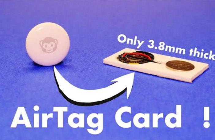 DIY Apple AirTag Brieftasche