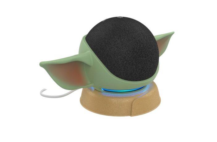 Grogu Echo Dot Ständer