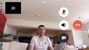 Der neue Echo Show 8 Kamera ohne Zoom - 1m Abstand