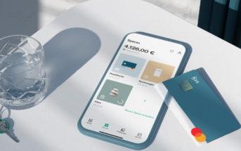 N26 Karte und Smartphone