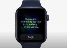 watchOS 8 – Apple Watch mit neuen Achtsamkeits-Übungen
