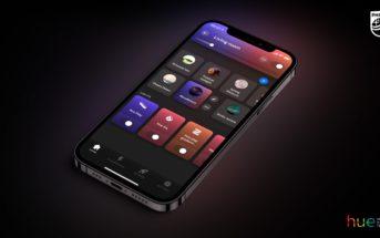 Philips Hue App 4.0 - Tile Ansicht