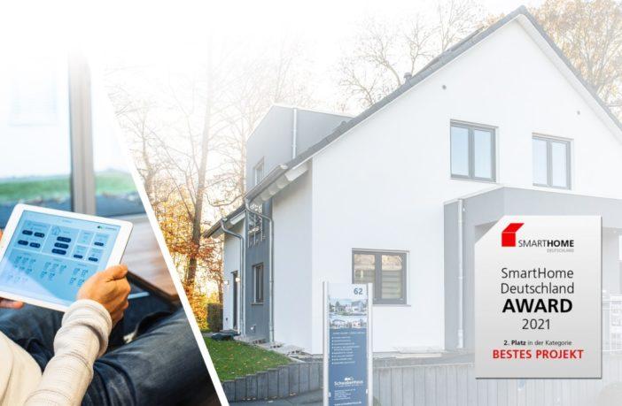 """Smarthome Deutschland Award-2021 - """"Bestes Projekt"""""""