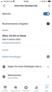 Amazon Alexa Routinen sieben Sprachbefehle 1
