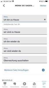 Amazon Alexa Routinen sieben Sprachbefehle 2
