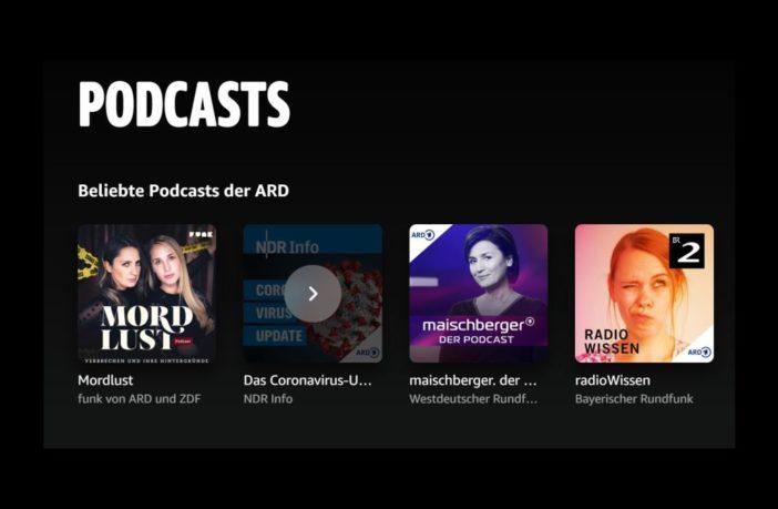 Amazon Music Podcasts ARD
