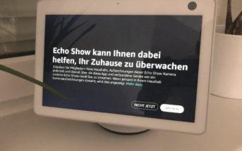 Live-Video nicht verfügbar Echo Show 10