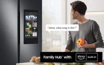 Samsung 4D Family Hub Amazon Alexa Built-In