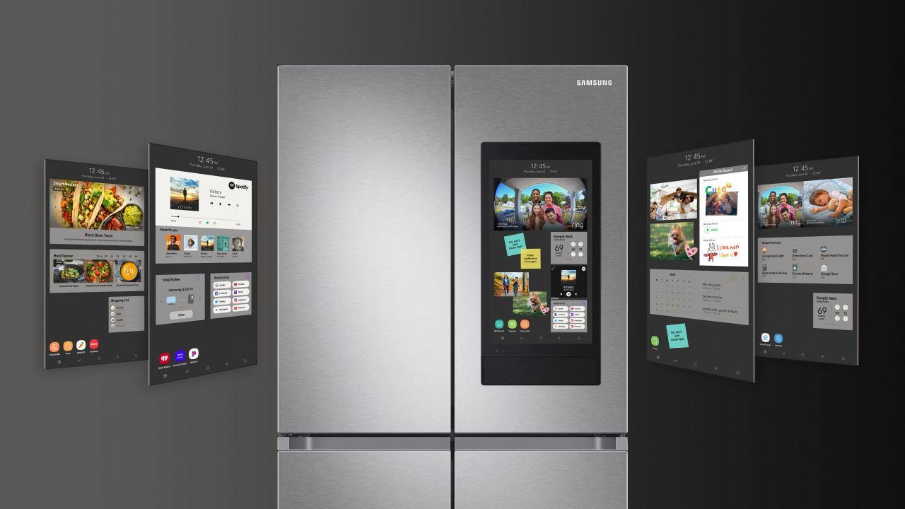 Samsung 4D Family Hub Menus