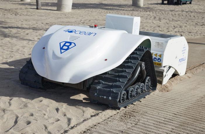 4Ocean BeBot Strandreinigungsroboter