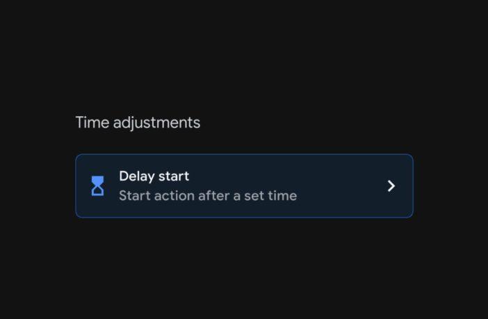 Google Assistant Routine verzögerter Start