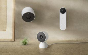 Nest Cam Akku, Doorbell und neue Nest Cam mit Kabel