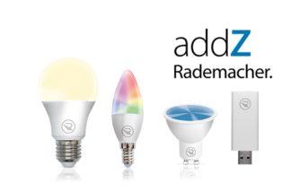 Rademacher addZ Leuchtmittel und Stick