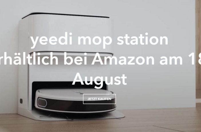 yeedi mop station Amazon 18 August 2021