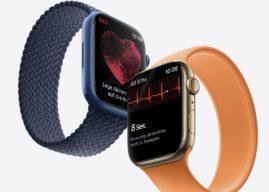 Datenblatt zur Apple Watch Series 7 aufgetaucht