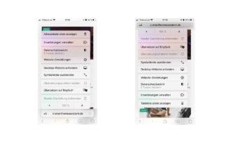 iOS 15 Safari Adressleiste oben anzeigen